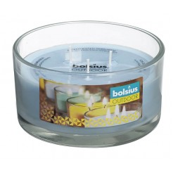 Bolsius glas outdoor 62/106 3-wick AIR