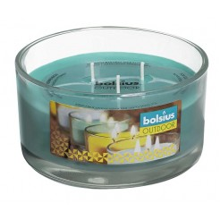 Bolsius glas outdoor 62/106 3-wick SEA