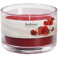 Bolsius geurkaars in glas 63/90 rose