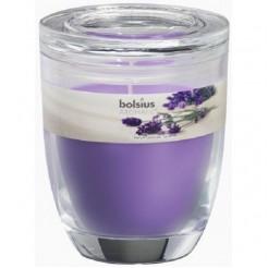 Bolsius Geurkaars in glas 120/100 Lavend