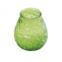 Bolsius Low Boy Glazen Windlicht Groen 12 stuks